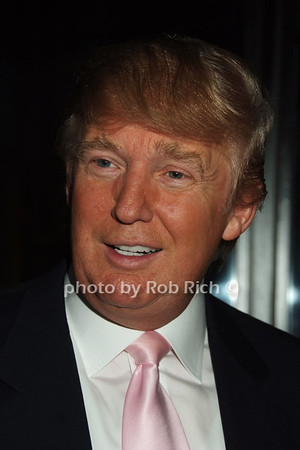 Donald Trump  photo  by Rob Rich © 2008 robwayne1@aol.com 516-676-3939