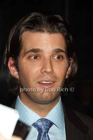 Donald Trump jr.  photo  by Rob Rich © 2008 robwayne1@aol.com 516-676-3939