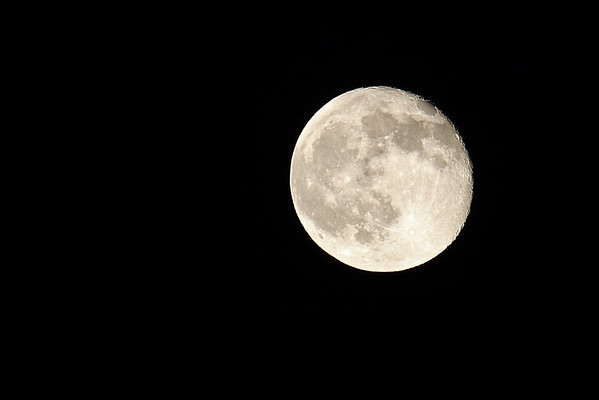 The moon~ 10/13/11