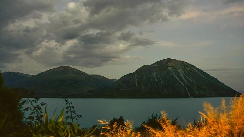 Lake Ohau dusk timelapse