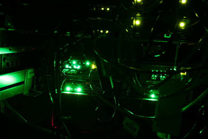Somehow, it reminds me of the borg... IBM gets points for the by far brightest green blinking lights...