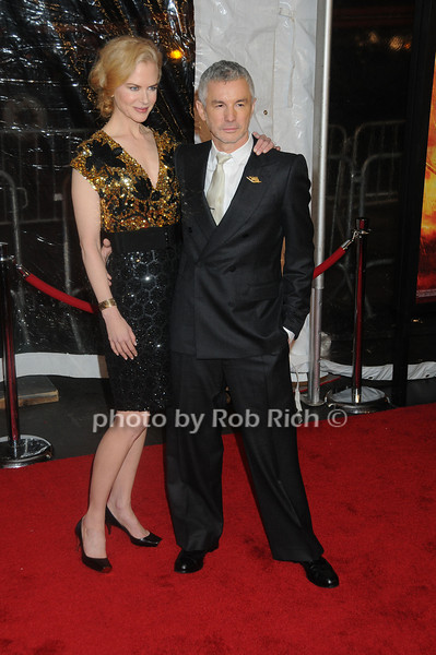 Nicole Kidman, Baz Luhrmann<br /> photo by Rob Rich © 2008 robwayne1@aol.com 516-676-3939