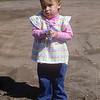 Melanie, my niece.