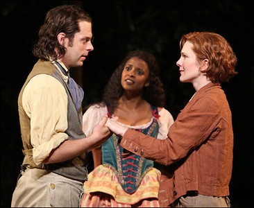 As You Like It<br /> Public Theater/Delacorte Theater<br /> <br /> Cast List:<br /> Brendan Averett<br /> Andre Braugher<br /> Donna Lynne Champlin<br /> Jon DeVries<br /> MacIntyre Dixon<br /> Susannah Flood<br /> David Furr<br /> Renee Elise Goldsberry<br /> Robert Joy<br /> Jesse Lenat<br /> Omar Metwally<br /> Oliver Platt<br /> Lily Rabe<br /> Will Rogers<br /> Michael Rudko<br /> Stephen Spinella<br /> Brendan Titley<br /> Grantham Coleman<br /> Andrew Hovelson<br /> Erik Mathew<br /> Justine Salata<br /> Paul Saylor<br /> Anna Phyllis Smith<br /> Production Credits:<br /> Daniel Sullivan (Director)<br /> John Lee Beatty (Scenic Design)<br /> Natasha Katz (Lighting Design)<br /> Jane Greenwood (Costume Design)<br /> Steve Martin (Original Music)<br /> Other Credits:<br /> Written by: William Shakespeare