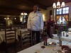 Roman, the owner of Burg Arras.  He is also a fine chef.