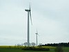 Germany derives a significant portion of its electricity from wind turbines.