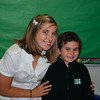 Theo with his other teacher, Mrs. Inness.
