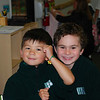 Theo with his friend, Jayden.