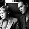 My Dad and his mom shot by grandfather on the way to Expo 58 @ Brussel