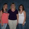 three girls facing front