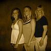 Three young ladies