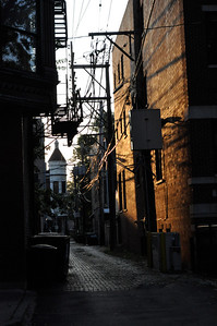 Alley off Seminary