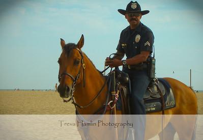 officer at Venice Beach
