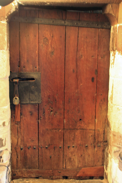 This door is in Westminster Abbey and is tagged as the oldest door in England