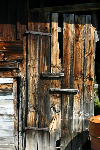 Barn door, Adirondack Park, NY