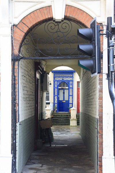 Modern things in a Victorian time - Shrewsbury, Shropshire, England