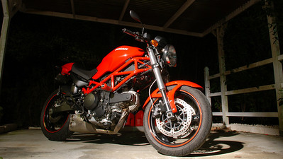 Ducati Monster, Florida (2008).