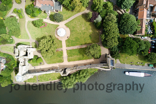 Newark Castle From Above