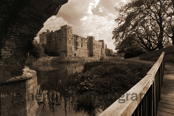 Newark Castle, from under The Trent Bridge