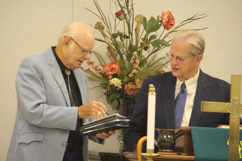 Jack Morton & Rev. Bob Messer