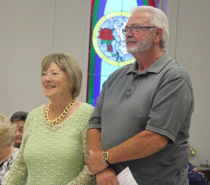 Sandi & Larry Hennegan celebrated their 52nd Wedding Anniversary.