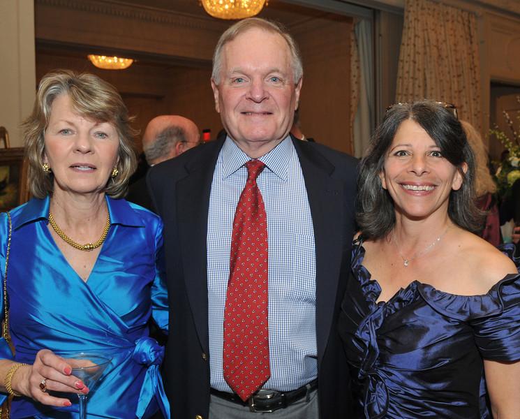 Joanne Jenkins, Dick Freeman and Leslie Freeman