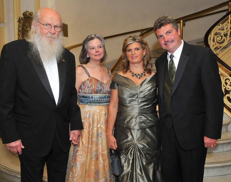 Saunders and Sallie Dixon (left), George and Lorraine Rubin, and Victoria and Lance McCue
