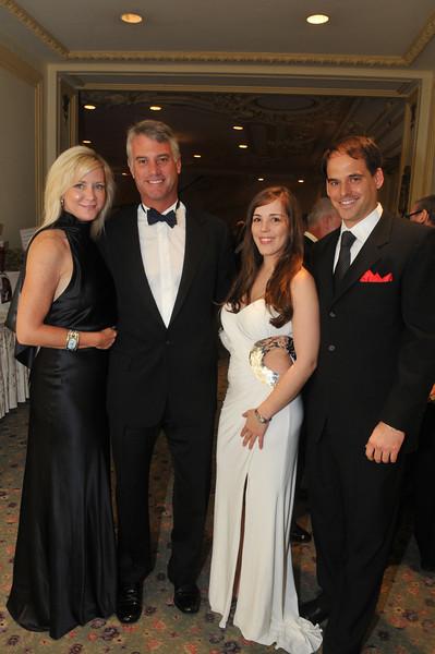 Michele Barrett and Harrison Todd, Crystal Crawford and Thaddeus Bartkowski