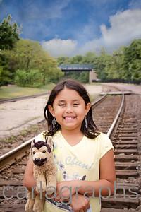 Anna on the Tracks-
