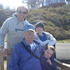On the walking path...Grandpa Don, Grampie, Evrett & Gracie Wacie