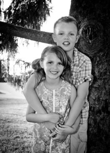Brother and Sister bw-0955