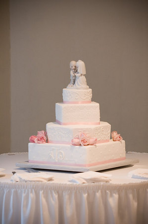 Throwing the Cake, Bouquet and Garter