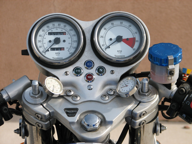 Dash.  moto temp and clock billet master cover. adj fork spring  adj.