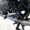Foot pegs upgrade/ Stainless steel case bolt kit also