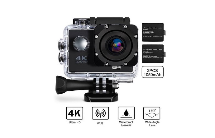 Beownwear Sports Action Camera 4K Ultra HD