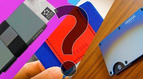Comparing Slim Wallets: Ekster vs. Trove vs. Ridge