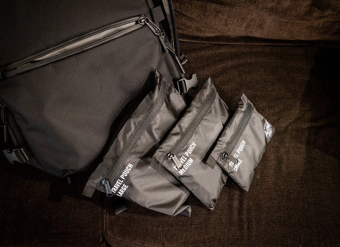 herschel travel pouches