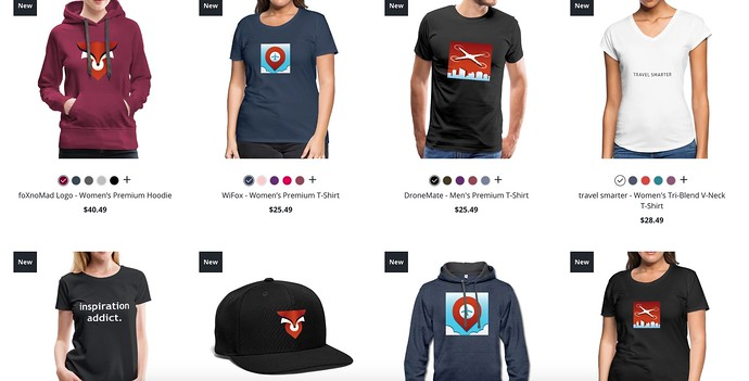 New foXnoMad Merch Shop With May Profits Going To Yemen's Children