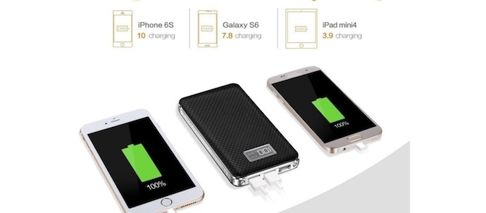 jemma 20000mah portable battery