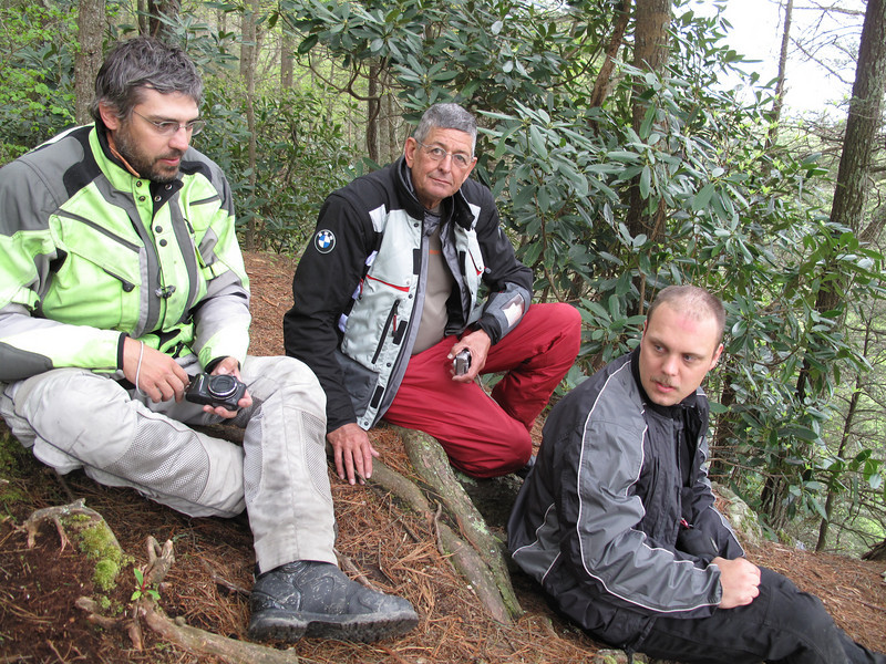 Ron, Phillip and Doug at Buzzard's Roost