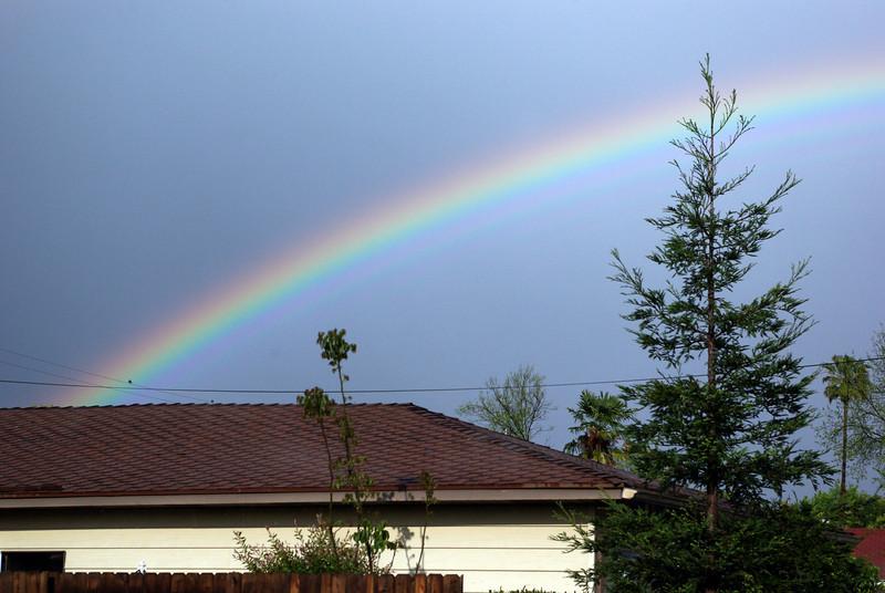Rainbow up-close