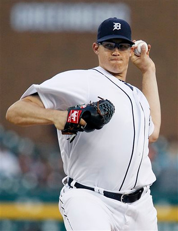 Tigers shut out by Rays