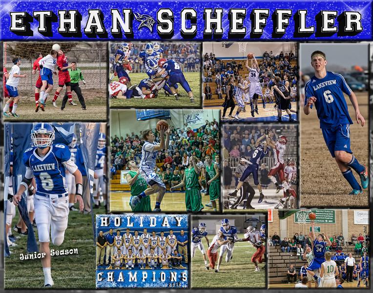 Ethan Scheffler 11 x 14 Collage