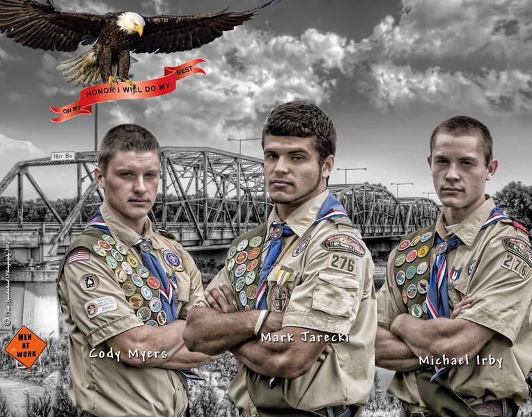 Eagle Scout 11 x 14