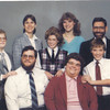 1986 - clockwise from left - Tim, Vicki, Kathy, Bill, Tom, Sheryl, Andy, Patty in the middle.
