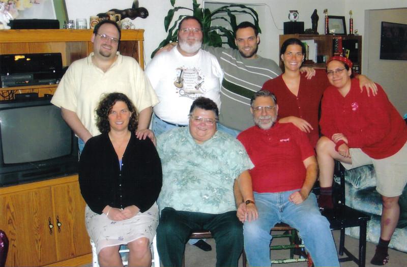 Finkenstadts, c. 2000-2006 before Carol showed up. - 846 Emerald Place Drive.