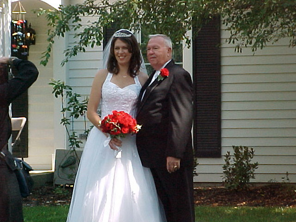 Tim and Alisa\'s Wedding <br /> Alisa and Dad