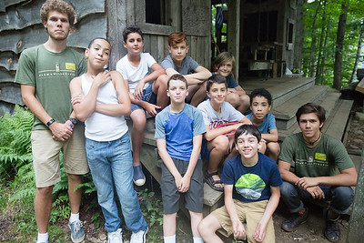 Boys arrive at Timberlake, get welcomed by counselors at the Trading Post, say goodbye to their parents, move into their cabins and play games and roast marshmallows on the first day of camp for August session, July 23, 2017. Timberlake, a summer camp for boys, is one of seven Farm & Wilderness camps in Plymouth, VT, based on the Quaker values of simplicity, honesty, self-reliance, and respect for all life. © Michael Forster Rothbart Photography www.mfrphoto.org • 607-267-4893 34 Spruce St, Oneonta, NY 13820 86 Three Mile Pond Rd, Vassalboro, ME 04989 info@mfrphoto.org Photo by: Michael Forster Rothbart Date:  7/23/2017 File#:  Canon — Canon EOS 5D Mark III digital camera frame C20232