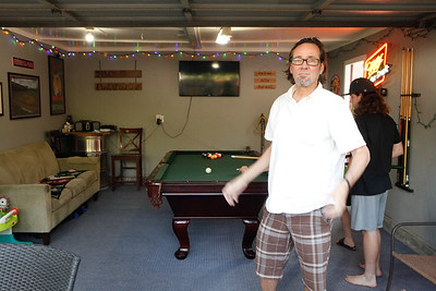 Pool hall and Garden Party 2020
