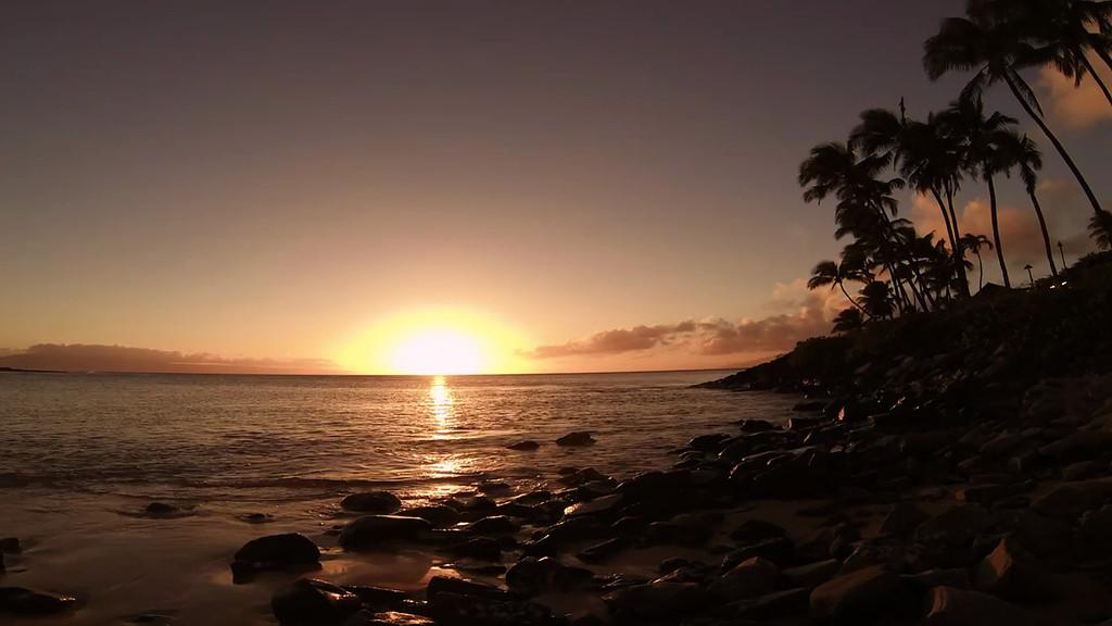 Napili Bay Sunset - Maui, Hawaii